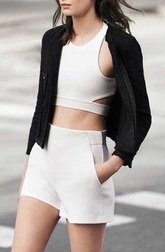 Short blanc Nk