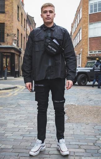 Chaussettes noires Pantherella