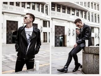 Jean skinny noir Nudie Jeans