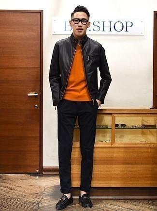 Pantalon chino noir Chevignon