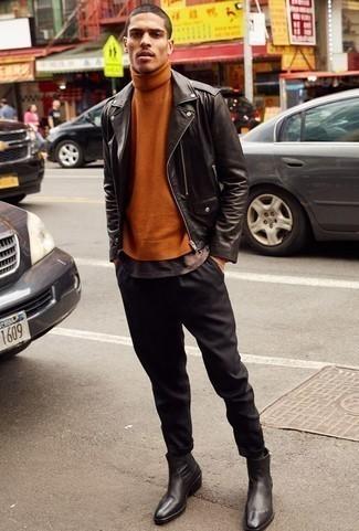 Veste noire Boss Orange