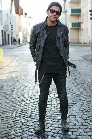 Jean skinny noir Diesel