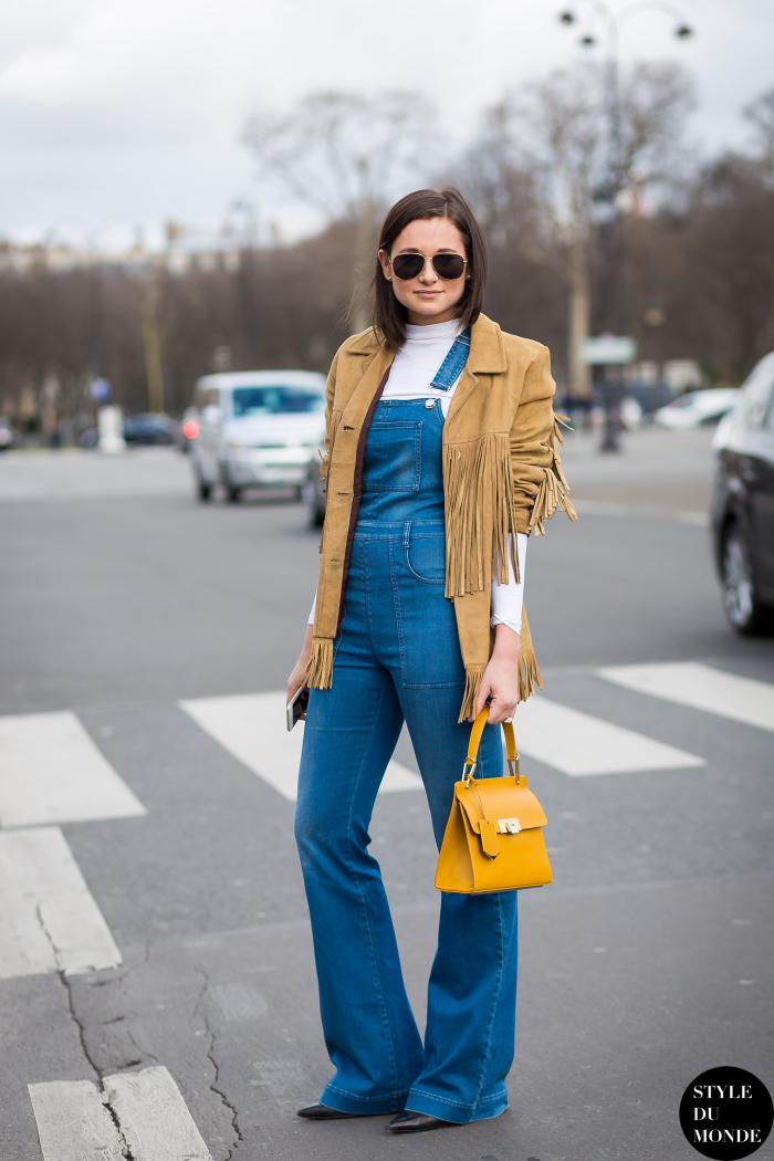 Comment porter une veste en daim femme
