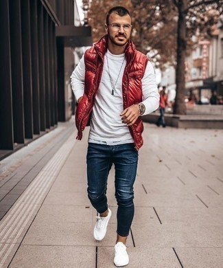 Veste rouge Jack & Jones