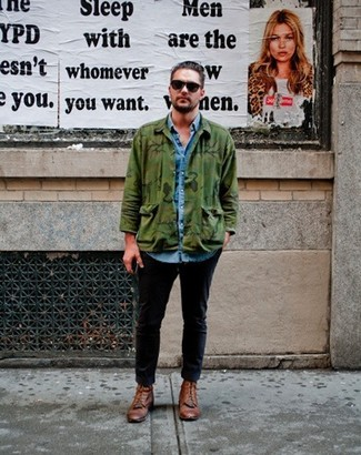 52 Hommes Mode Tenues Porter Comment Veste Une Camouflage PwYxIYqf0W