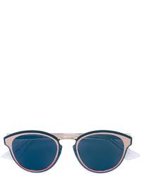 Lunettes de soleil bleu canard Christian Dior
