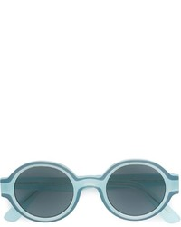 Lunettes de soleil bleu canard Mykita