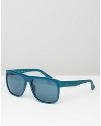 Lunettes de soleil bleu clair Calvin Klein