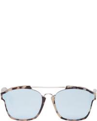 Lunettes de soleil bleu clair Christian Dior