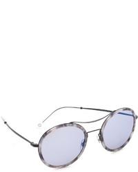 Lunettes de soleil bleu clair Gucci