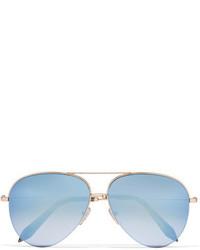 Lunettes de soleil bleu clair Victoria Beckham