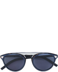 Lunettes de soleil bleu marine Christian Dior