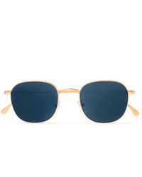 Lunettes de soleil bleu marine Paul Smith