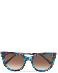 Lunettes de soleil bleu marine Thierry Lasry