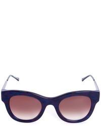 Lunettes de soleil bleues marine Thierry Lasry