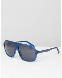 Lunettes de soleil bleues Calvin Klein