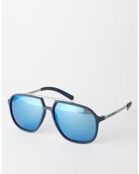 Lunettes de soleil bleues Dolce & Gabbana