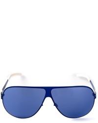 Lunettes de soleil bleues Mykita