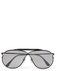 Lunettes de soleil grises Tom Ford