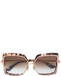 Lunettes de soleil marron Dita Eyewear