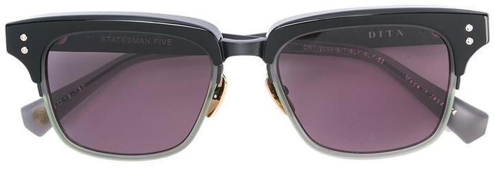 Lunettes de soleil noires Dita Eyewear
