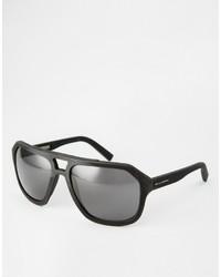 Lunettes de soleil noires Dolce & Gabbana