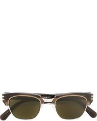 Lunettes de soleil olive Marc Jacobs