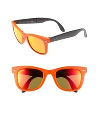 Lunettes de soleil orange