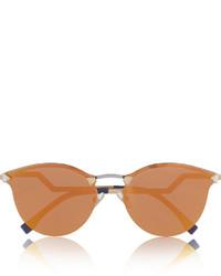 Lunettes de soleil orange Fendi