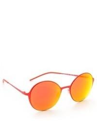 Lunettes de soleil orange Italia Independent