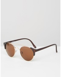 Lunettes de soleil tabac Jeepers Peepers