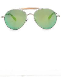 Lunettes de soleil vertes Givenchy