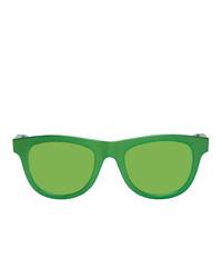 Lunettes de soleil vertes Bottega Veneta