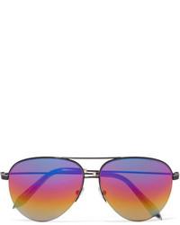 Lunettes de soleil violet clair Victoria Beckham
