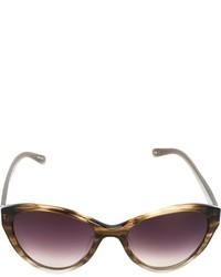 Lunettes de soleil violettes Linda Farrow