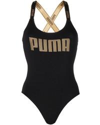 Maillot de bain une pièce noir Puma