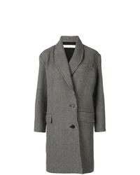 Manteau à carreaux gris foncé IRO