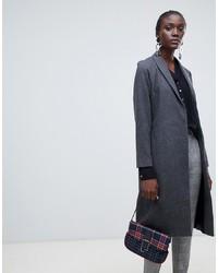 Manteau à carreaux gris Vero Moda