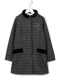 Manteau à carreaux noir Tartine et Chocolat