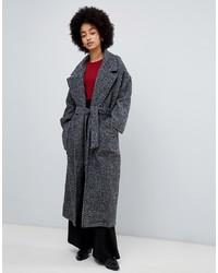 Manteau à chevrons gris foncé Dr. Denim