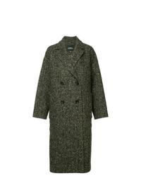 Manteau à chevrons gris foncé Goen.J