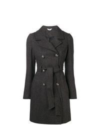Manteau à chevrons gris foncé Liu Jo