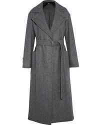 Manteau à chevrons gris foncé Max Mara