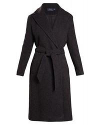 Manteau à chevrons gris foncé Ralph Lauren