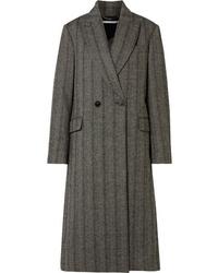Manteau à chevrons gris foncé Stella McCartney