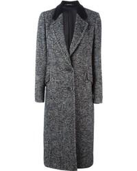 Manteau à chevrons gris foncé Tagliatore