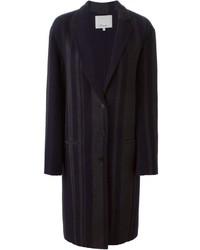Manteau à rayures verticales bleu marine 3.1 Phillip Lim