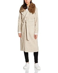 Manteau beige New Look