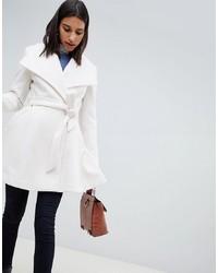 Manteau blanc ASOS DESIGN