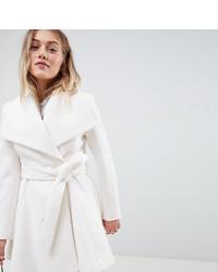 Manteau blanc Asos Petite